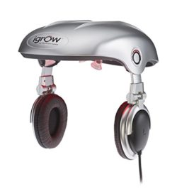 iGrow Hands-Free Laser LED Light Therapy for Hair Regrowth Rejuvenation, FDA-Cleared Hair Loss
