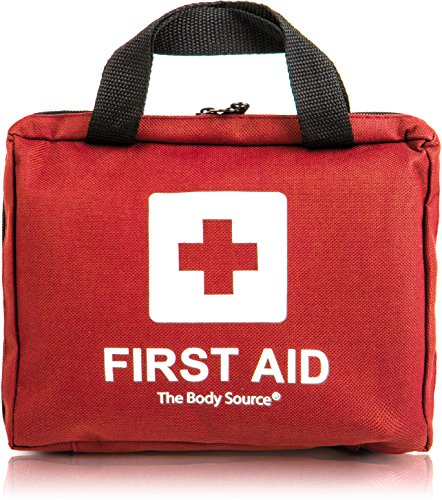 90 Pieces First Aid Kit – All-Purpose with Premium Medical Supplies and Soft Case for Home, Office, Car, Camping and Travel