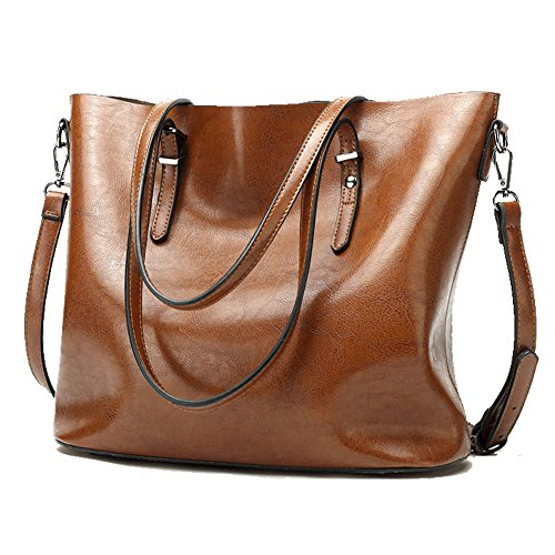 Elegant U00aeMANXISI Brand Women U2467 Bag Bag 2016 European And American Brown Leather U221a Bag Bag Women Handbags ...