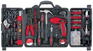 Apollo Precision Tools DT0738 Household Tool Kit, 161 Piece