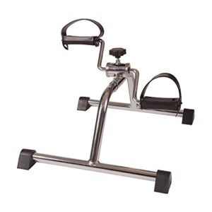 DMI-Lightweight-Mini-Pedal-Exerciser-Leg-and-Arm-Exerciser-Silver-0