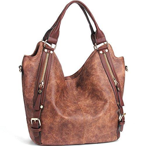 b30219b6f05f JOYSON Women Handbags Hobo Shoulder Bags Tote PU Leather Handbags ...
