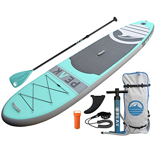 Peak Inflatable Stand Up Paddle Board With Adjustable