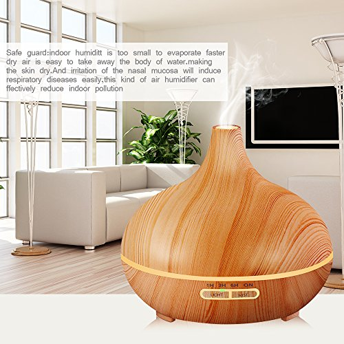 Aroma Spa Room Color ~ Kbaybo ml essential oil diffuser aroma