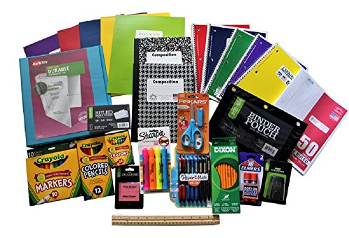 School Supply Bundle For 3rd- 4th- 5th Grade Students