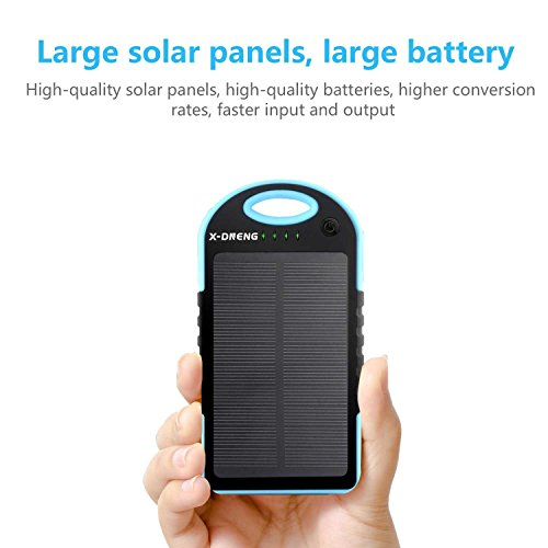 Solar power charger for x