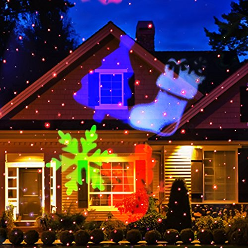 Christmas Spotlight Projection